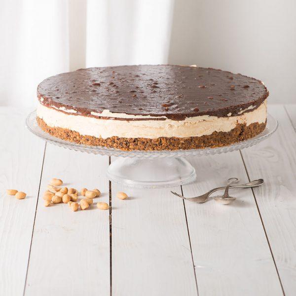 Marusin Luftiger Erdnussbutter-Cheesecake