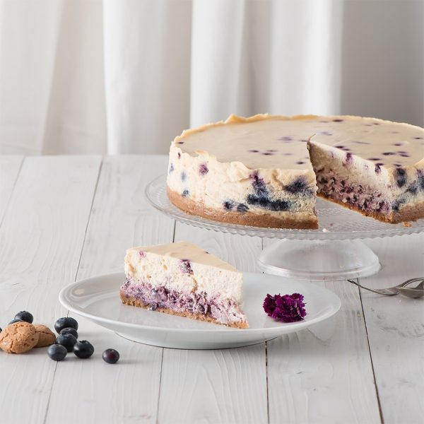 Marusin ein amerikanischer Traum New-York-Cheesecake mit Blaubeeren 2